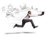 Negócio rápido Imagem de Stock
