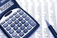 Conceito do orçamento Imagem de Stock Royalty Free