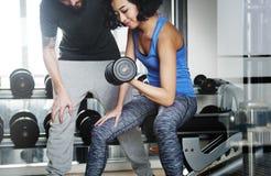 Conceito do passatempo do esporte de Fitness Leisure Exercise do atleta Fotografia de Stock Royalty Free