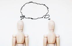 Conceito do pensamento comum Imagem de Stock