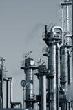 Conceito do petróleo e da indústria do gás imagens de stock