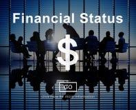 Conceito do planeamento do débito do crédito de orçamento da situação financeira imagem de stock royalty free