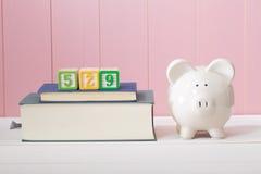 conceito do plano de 529 economias da faculdade Fotografia de Stock Royalty Free