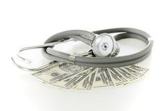 Conceito do preço dos cuidados médicos Imagem de Stock