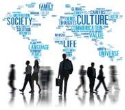 Conceito do princípio da sociedade da ideologia da comunidade da cultura Imagem de Stock Royalty Free