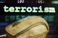 Conceito do rato e do terrorismo Imagens de Stock