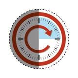 Conceito do relógio de ponto Foto de Stock Royalty Free