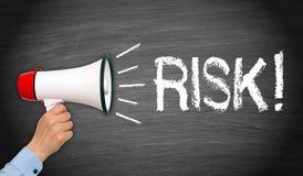 Conceito do risco de negócio Imagens de Stock