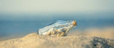 Conceito do Sandy Beach do verão Fotos de Stock