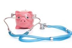 Conceito do seguro médico Imagens de Stock
