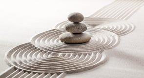 Conceito do silêncio do zen Foto de Stock