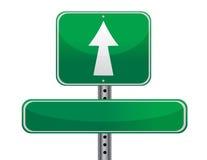 Conceito do sinal de estrada Imagem de Stock