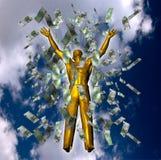 Conceito do sucesso Fotos de Stock Royalty Free