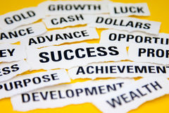 Conceito do sucesso Fotos de Stock