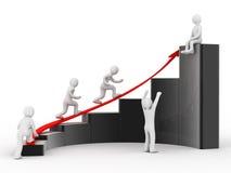 Conceito do sucesso ilustração stock