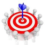 conceito do sucesso 3d Imagens de Stock