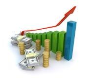 Conceito do sucesso de negócio Foto de Stock