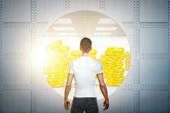 Conceito do sucesso e da finança Imagem de Stock Royalty Free