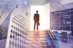Conceito do sucesso e da oportunidade imagens de stock royalty free