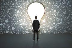 Conceito do sucesso e da solução Imagem de Stock Royalty Free