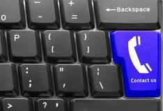 Conceito do teclado de computador Fotografia de Stock