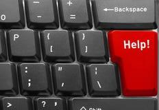 Conceito do teclado de computador Imagens de Stock