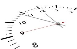 Conceito do tempo Imagens de Stock