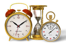 Conceito do tempo ilustração stock