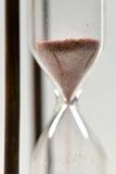 Conceito do tempo com hourglass foto de stock