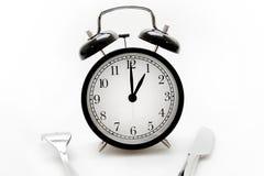 Conceito do tempo da refeição Fotografia de Stock