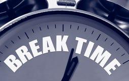 Conceito do tempo da ruptura Imagem de Stock
