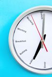 Conceito do tempo de café da manhã Fotos de Stock Royalty Free