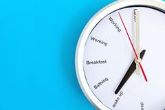 Conceito do tempo de café da manhã Fotografia de Stock