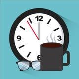Conceito do tempo de trabalho Imagem de Stock Royalty Free