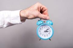 Conceito do tempo no trabalho Imagens de Stock