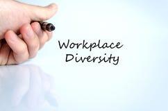 Conceito do texto da diversidade do local de trabalho Imagem de Stock