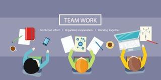 Conceito do trabalho da equipe Reunião de negócio Imagens de Stock