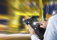 Conceito do transporte rápido ou imediato Fotografia de Stock