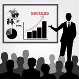 Conceito do treinamento do negócio Foto de Stock Royalty Free