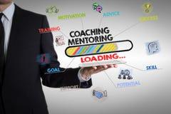 Conceito do treinamento e da tutoria Fotografia de Stock Royalty Free