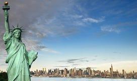 Conceito do turismo de New York City Fotos de Stock