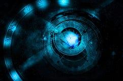 Conceito do universo da astrologia Fotografia de Stock Royalty Free