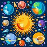 Conceito do universo 06 isométrico Imagens de Stock Royalty Free