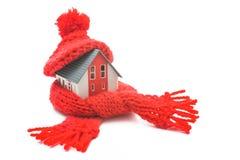 Conceito do uso eficaz da energia da casa Foto de Stock Royalty Free