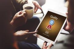 Conceito do valor de classe do serviço do nível da garantia de qualidade o melhor Imagens de Stock Royalty Free