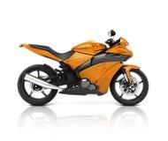 Conceito do veículo do velomotor da motocicleta de Brandless ilustração do vetor