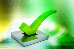 Conceito do voto ilustração do vetor