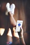 Conceito do Web page de Digitas Applicaton do email fotografia de stock royalty free