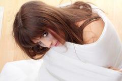 Conceito dos abusos sexuais Fotografia de Stock Royalty Free