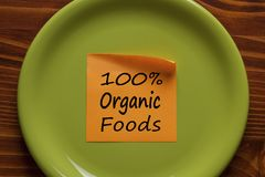 Conceito dos alimentos orgânicos Fotografia de Stock Royalty Free
